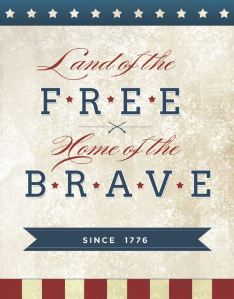Land-Of-The-Free-Sign-Patriotic-Printable